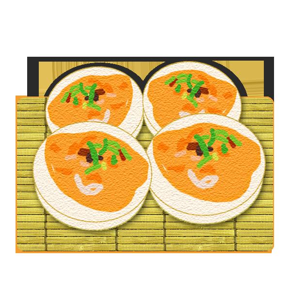 卵のうに焼き