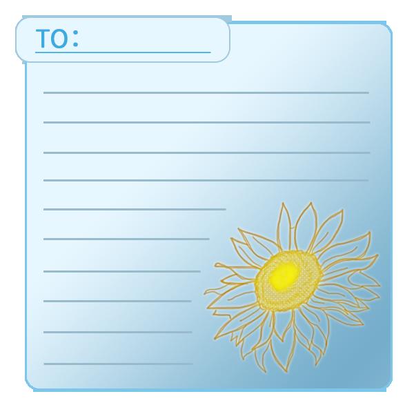 向日葵のカード2